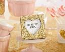 Gold Glitter Heart Frame Party Favor | Barmitzvah.com