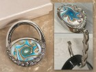 Murano Collection Purse Shape Handbag Holder Party Favor | Barmitzvah.com