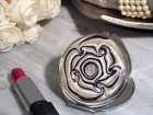 Stylish Murano Swirl Compact Mirror Party Favor | Barmitzvah.com