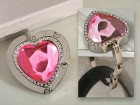 Murano Collection Heart Shape Handbag Holder Party Favor | Barmitzvah.com