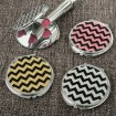 Glitter Chevron Compact Mirror Party Favor | Barmitzvah.com