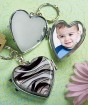 Murano Glass Locket Key Chain Party Favor | Barmitzvah.com